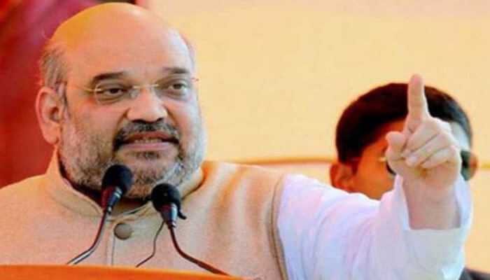 अमित शाह पहुंचे अंबिकापुर, कांग्रेस पर साधा निशाना, कहा अब राहुल बाबा जवाब दें