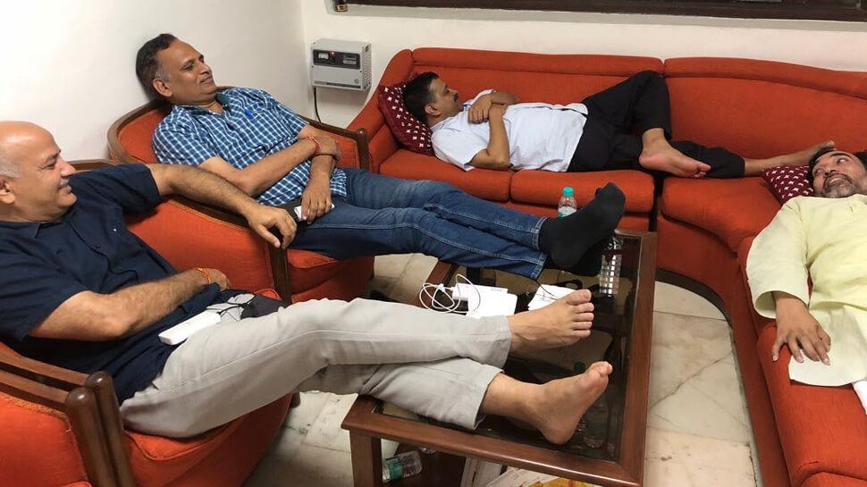 केजरीवाल का धरने पर बैठना बचकानी हरकत – पूर्व मुख्यमंत्री शीला दीक्षित
