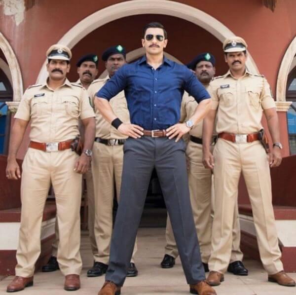 रणवीर एंग्री पुलिस अफसर के रोल में,जानें फ़िल्म