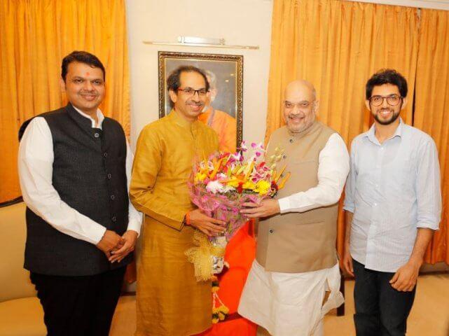 शिवसेना को खोना नहीं चाहती BJP,अमित शाह ने उद्धव ठाकरे को मनाया-सूत्र