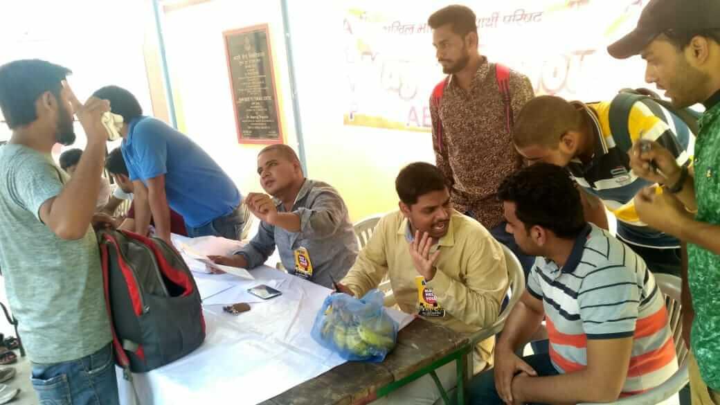 बीएचयू में ABVP का हेल्प डेस्क: नवप्रवेशियो को मिली मदद