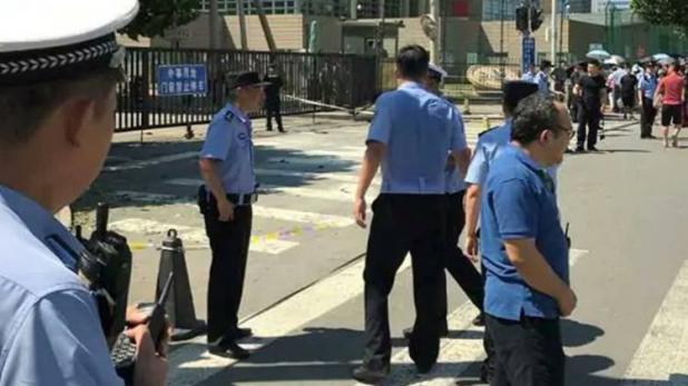 चीन: बीजिंग में अमेरिकी दूतावास के पास धमाका, एक गिरफ्तार