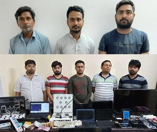 IPL : सट्टेबाजों के बड़े गिरोह का भंडाफोड़, सरगना समेत 8 गिरफ्तार