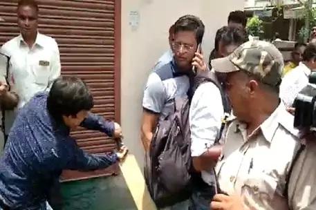 BJP विधायक की गुंडागर्दी: निगम अधिकारी को बैट से पीटा, देखें वीडियो