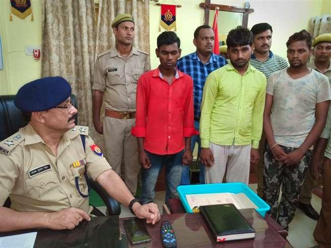 वाहन चोरों के अंतरजनपदीय गिरोह का पर्दाफाश, चार गिरफ्तार