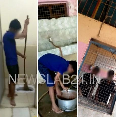 बालगृह: बच्चों से साफ कराया शौचालय, वीडियो सामने आने से मचा हड़कंप