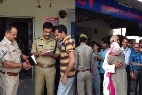 हापुड़ः BJP नेता की दिनदहाड़े हत्या, पुलिस चौकी से कुछ दूर बदमाशों ने मारी गोली